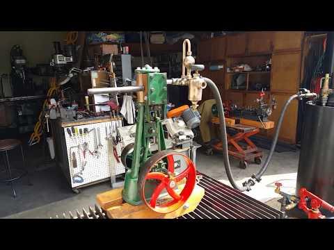 Antique Steam Engine Lubricator Oiler Whistle Gauge Off Grid Live Steam Engine boiler