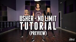 Dance TUTORIAL [Preview] - Usher - No Limit - Choreography by Alexander Chung