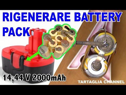 TUTORIAL Rigenerare batteria