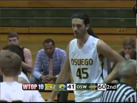 Oswego State Men's Basketball vs Cazenovia College 121115