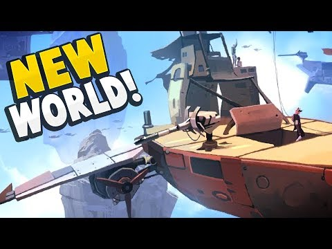 Worlds Adrift - 300 NEW ISLANDS TO EXPLORE! A Brand New World Awaits! - Worlds Adrift Gameplay