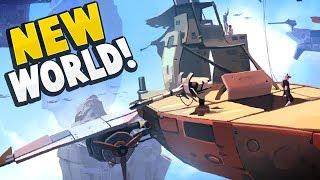 Worlds Adrift - 300 NEW ISLANDS TO EXPLORE! A Brand New World Awaits! - Worlds Adrift Gameplay