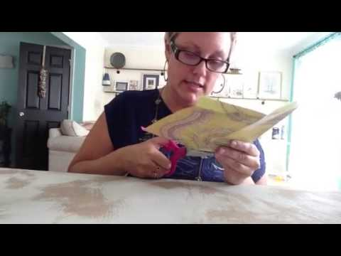 How to make envelopes from your old jewelry catalogs