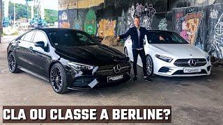 Mercedes CLA ou Classe A Berline ? ⎜CLA 200 & Classe A 200 Berline