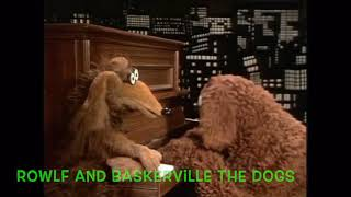 Puppet songs - dog eat dog by Baskerville the hound and rowlf the dog