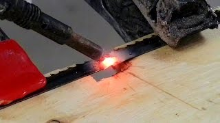 Welding A Broken Band Saw Blade (And Other Fun Stuff)