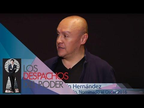 Martín Hernández charla sobre su segunda nominación al Oscar