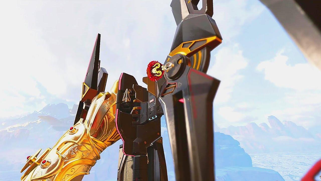 [新武器ボセックボウ] 矢あり、矢無しで眺めモーションが違うので見てください。 apex