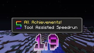 [TAS-No Playback] Minecraft-All Achievements 1.9 (Set Seed,DragonSkip) (16:02.38)
