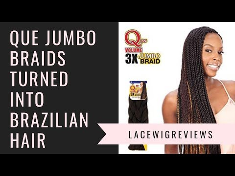 "Que Braiding  Hair - Review of  Ari and Ela $5 ""BRAZILIAN"" CURLY INDIVIDUAL CROCHET"
