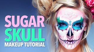 Santa Muerte Sugar skull makeup tutorial