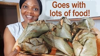 Nigerian Moi Moi with Leaves, the Social Butterfly of the Nigerian Food Kingdom