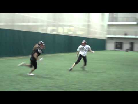Montreal Blitz Football - At practice
