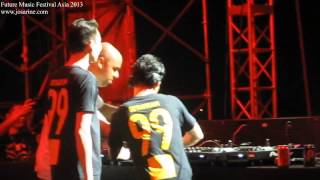 DJ Goldfish and Blink at Future Music Festival Asia 2013