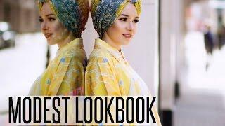 LOOKBOOK   Modest Wear for Spring