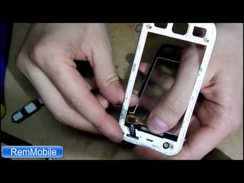 Как заменить сенсор на Samsung s5250