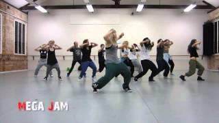 'Booty Wurk' T Pain choreography by Jasmine Meakin (Mega Jam)