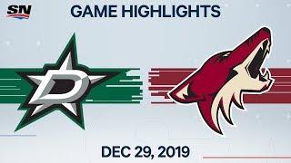 NHL Highlights   Stars vs. Coyotes - Dec. 29, 2019