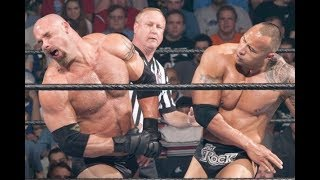 WWE Goldberg vs The Rock Backlash Full Match HD WWE