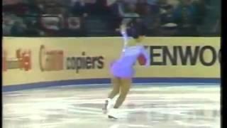 伊藤みどり 世界選手権1984 SP&FS wmv Midori Ito