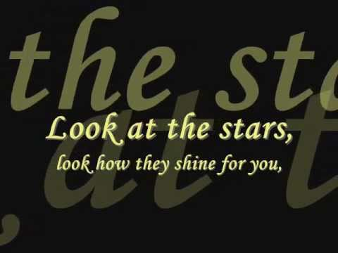 Coldplay Look At The Stars Look How They Shine For You