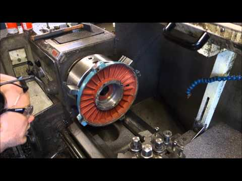 Repairing electric motor bearing housing