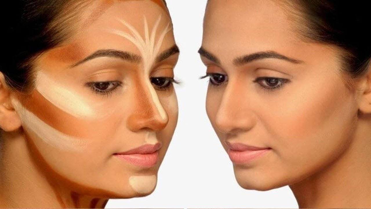 Contour and Highlight  Best Contouring Makeup Tips - How to Contour and  Highlight  For Beginners