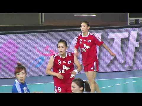 2012런던올림픽 핸드볼 최종 평가전_20120621 여자국가대표vs여자실업선발
