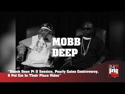 Mobb Deep - Shook Ones Session, Pearly Gates, & Put Em In Their Place Video (247HH Archives)