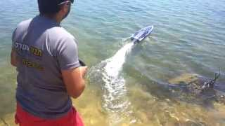 traxxas sprtan    tavor motors סירות על שלט באשקלון
