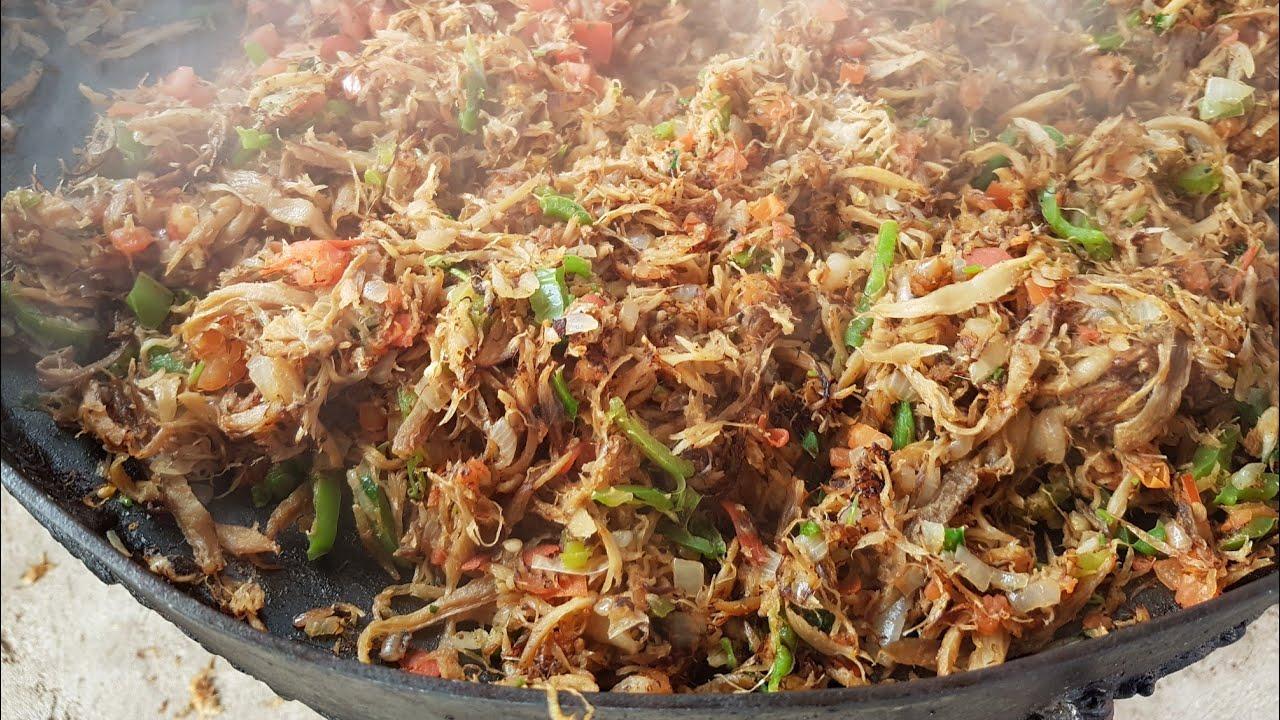 Gastronomía sudcalifornia: MACHACA DE MANTARRAYA ESTILO B.C.S. -  Sudcalifornios