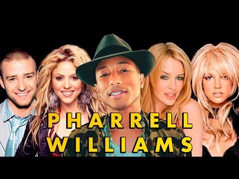 12 CANCIONES ESCRITAS POR PHARRELL WILLIAMS PARA OTROS ARTISTAS   IT'S MUSIC SERCH 2016