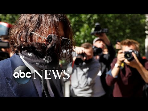 Johnny Depp trial, Hong Kong protest, no run in Pamplona: World in Photos, July 7