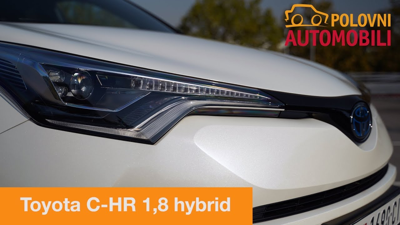 Auto Test Toyota C Hr Hibrid Automobil Za Wow Efekat