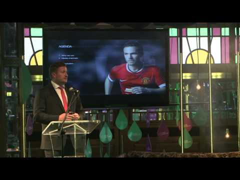 Web Summit 2014. Day 1, Sports Stage: Richard Arnold, Group Managing Director of Manchester Utd.