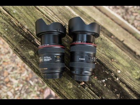 Canon 24-70 f/4L IS vs Canon 24-105 f/4L IS - Fight!