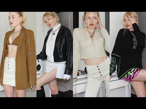 TRY ON CLOTHING HAUL / Kallie Kaiser