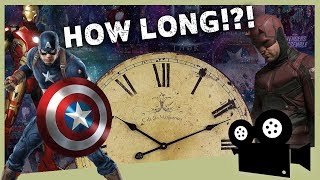 How long would it take to marathon the entire MCU?