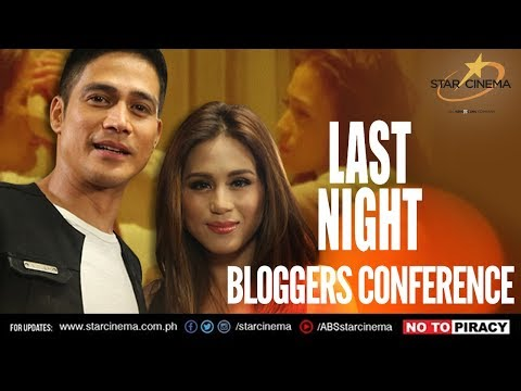 'Last Night' Bloggers Conference #lastnightblogcon