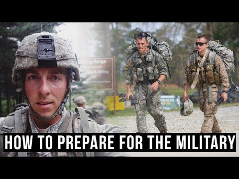 How To Physically Prepare For The Military (From Army Officer & Marine Raider)