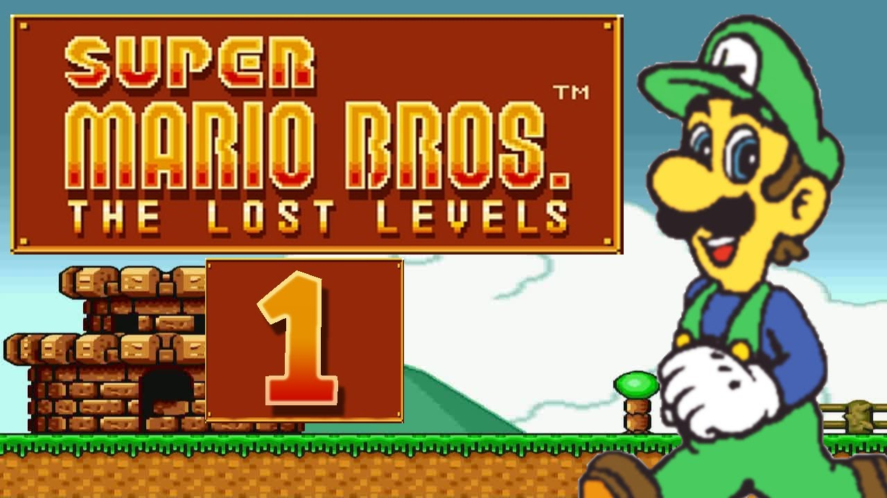 Let S Play Super Mario Bros The Lost Levels Part 1 Luigi Challenge Youtube