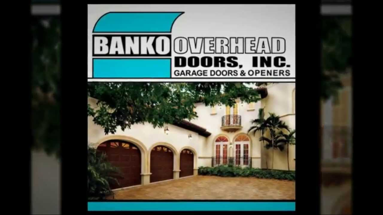 Banko Garage Doors   Garage Door Installation U0026 Repair In Tampa, FL    YouTube
