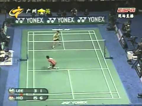 2005 World Badminton Championship Men Single SF - Lee Chong Wei[MAS] Vs Taufik Hidayat[IND]