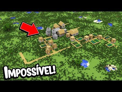 Minecraft: É IMPOSSÍVEL SOBREVIVER NESSE MUNDO PLANO!!!