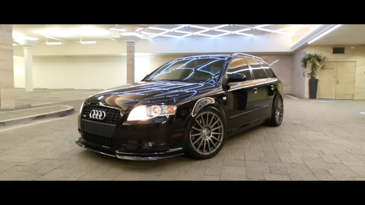 audi b7 a4 avant titanium package lowered youtube. Black Bedroom Furniture Sets. Home Design Ideas