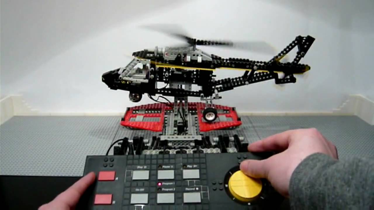 lego 8485 technic control center ii helicopter built in stop motion released 1995 hd. Black Bedroom Furniture Sets. Home Design Ideas