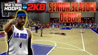 High School Hoops 2K8 - MyCareer - Truly