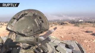 Syrian Army on assault to retake opposition held Tariq al Bab in E Aleppo