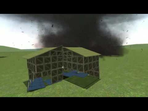 Garry's Mod - gDisasters - EF0-EF5 Tornado Damage