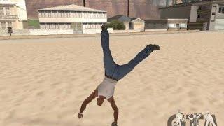 Parkour mod для GTA San Andreas
